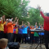 Fête de la Musique sur la place de la Vertue à Périgueux en 2018