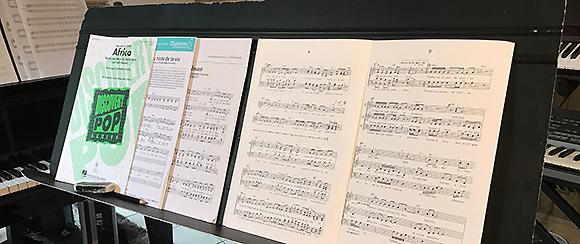 répertoire chorale pop choeur périgueux